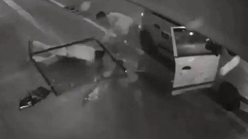 Un ladrón cae desde un segundo piso, se queda inconsciente y logra evitar el arresto