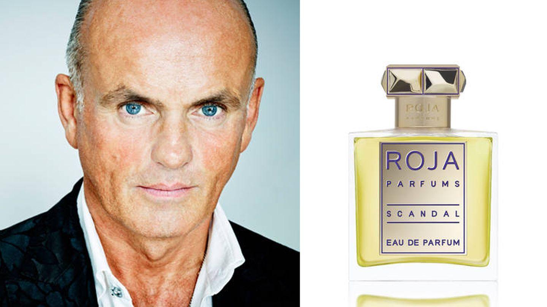 El perfumista de la firma Roja Dove.