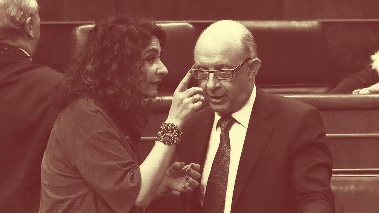 Foto: El exministro de Hacienda, Cristóbal Montoro, elaboró la Ley de Estabilidad que ahora quiere cambiar su sucesora, María Jesús Montero. (EFE)