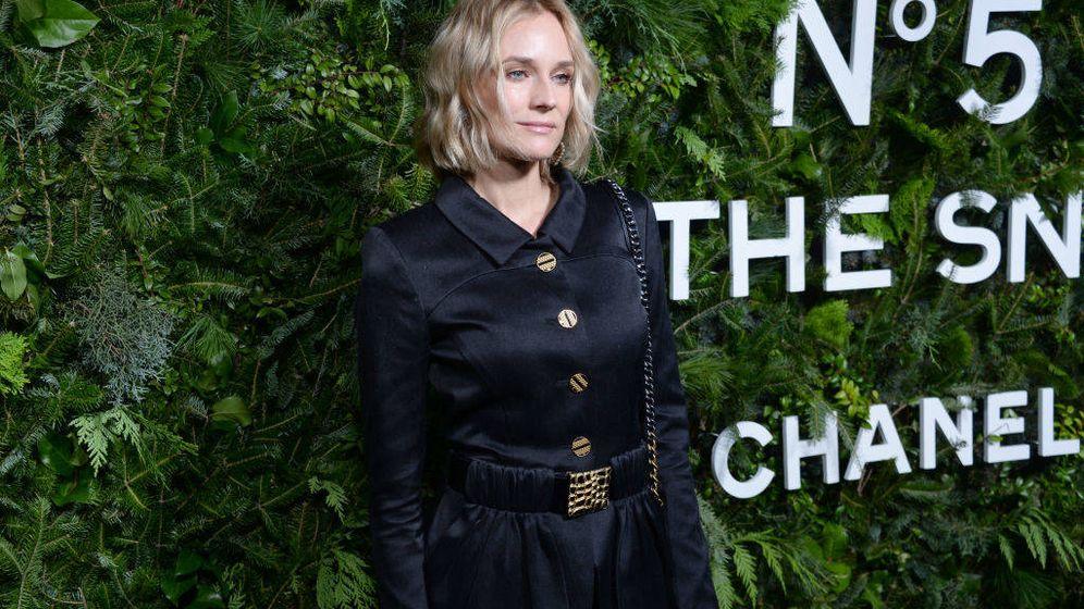 Foto: Diane Kruger, en una fiesta de Chanel en Nueva York. (Getty)