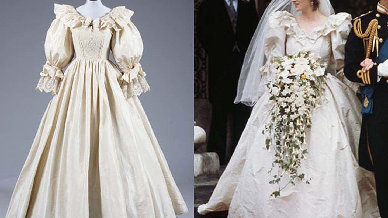 El vestido de novia de Diana de Gales