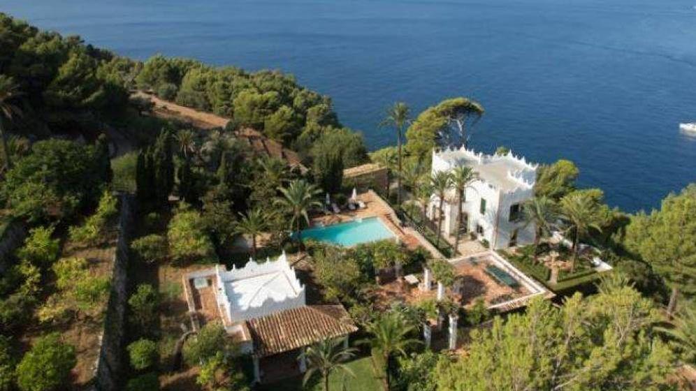 Foto:  S'Estaca, la impresionante mansión de Michael Douglas. (Engel & Völkers)