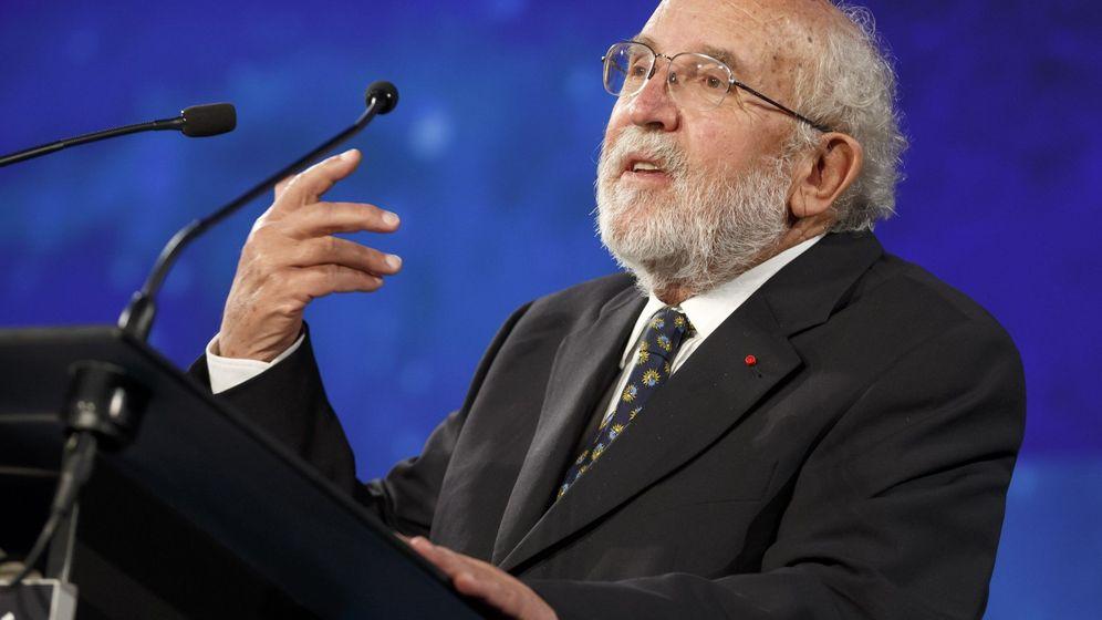 Foto: El astrofísico Michel Mayor, ganador del premio Nobel de Física 2019. Foto: EFE EPA SALVATORE DI NOLFI