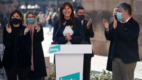 Borràs (JxCat) retomará el compromiso del 1-O si es elegida presidenta de Cataluña