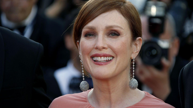 Julianne Moore en el Festival de Cine de Cannes (REUTERS Jean-Paul Pelissier)