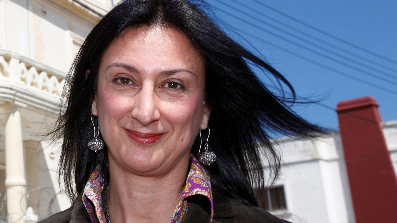 Caruana Galiza era conocida por ser el látigo de empresarios, mafiosos y políticos en Malta (REUTERS)
