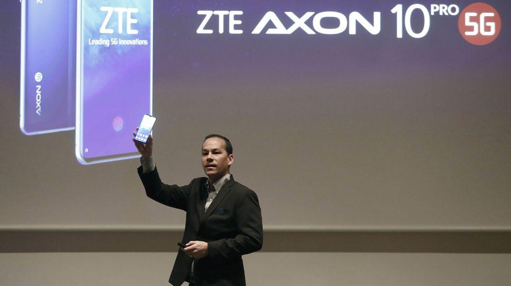 Foto: ZTE anuncia que fabricará el primer móvil con cámara debajo de la pantalla