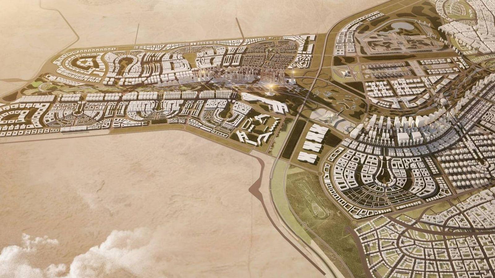 Foto: Así es la nueva capital que Egipto está construyendo en el desierto. (ACUD)