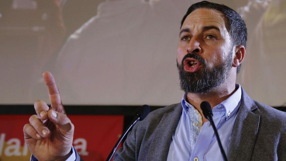 Foto: El líder de Vox, Santiago Abascal. (Reuters)