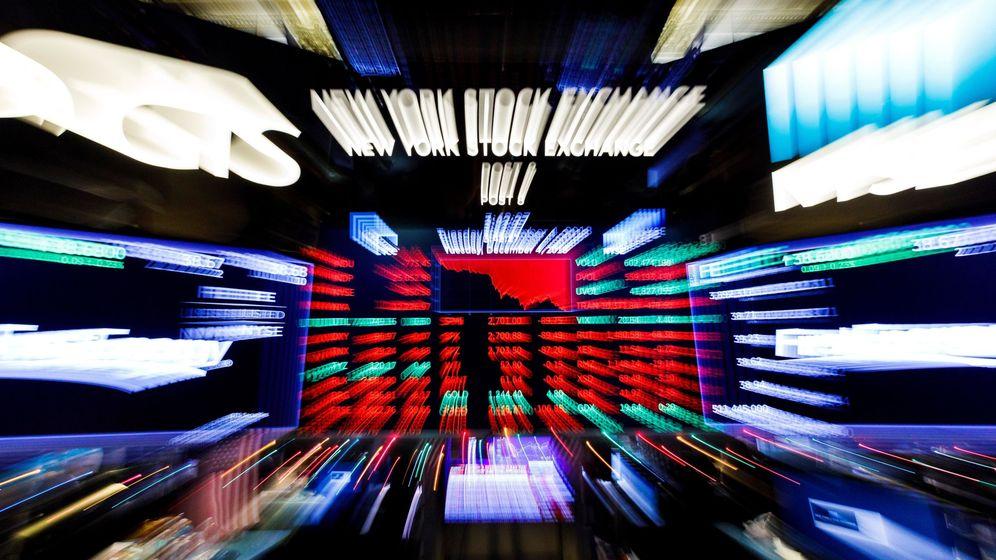 Foto: Una pantalla en Wall Street. (EFE)