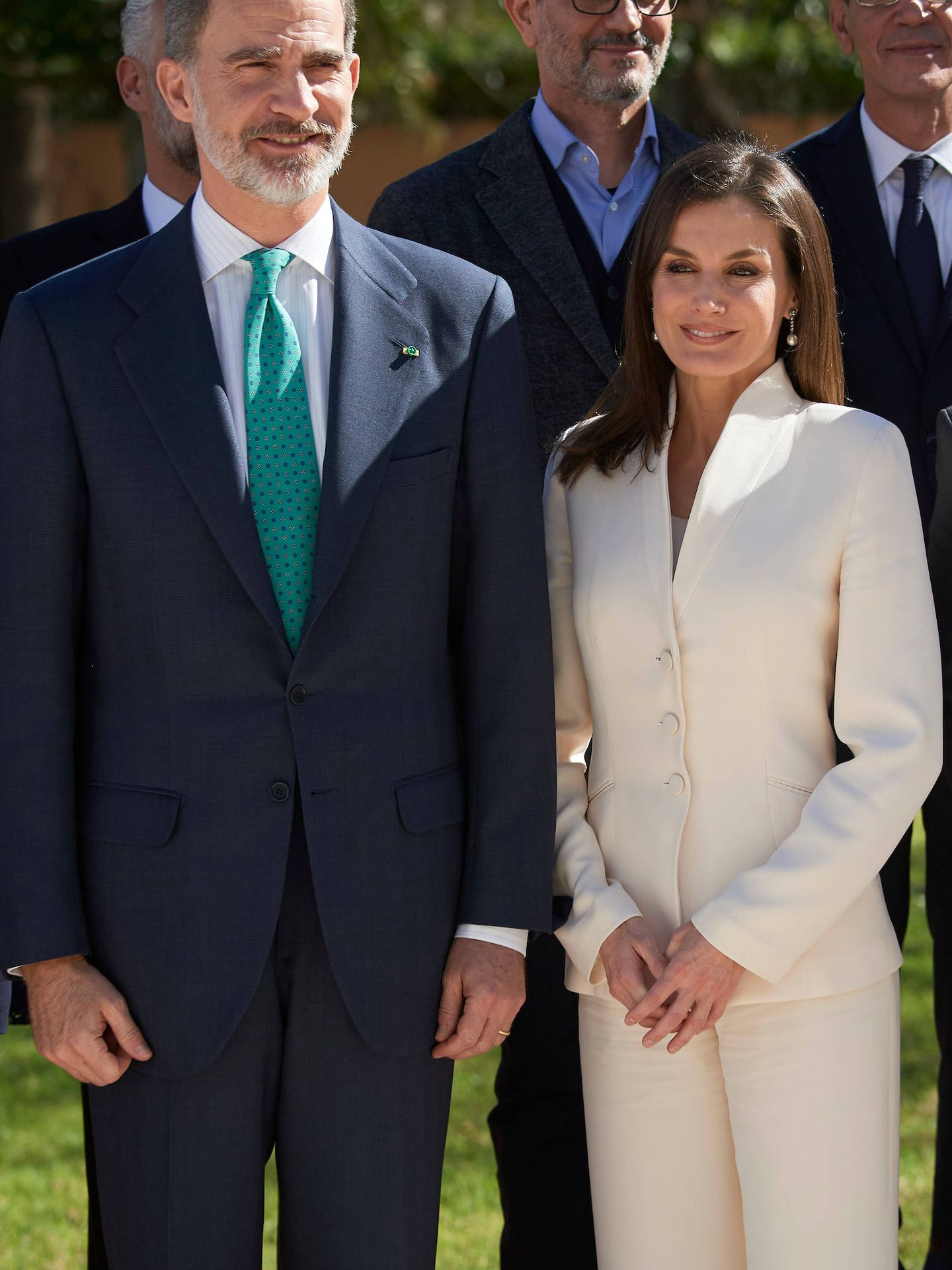 Los Reyes en la embajada. (Limited Pictures)