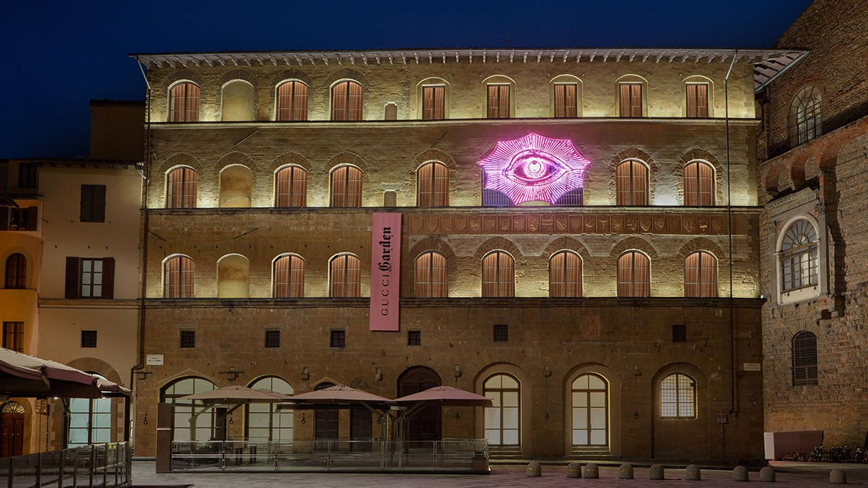 El jardín palaciego de Gucci en Florencia. (Foto: Gucci)