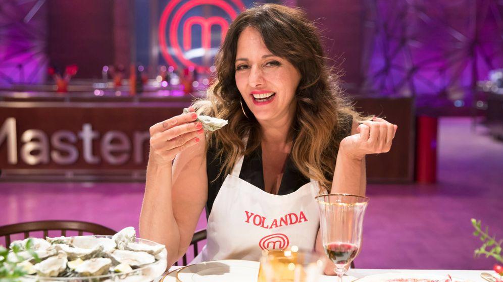 Foto: Yolanda Ramos, en 'MasterChef Celebrity'. (TVE)