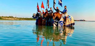 Post de En Suecia luchan contra el coronavirus con caballeros medievales a caballo