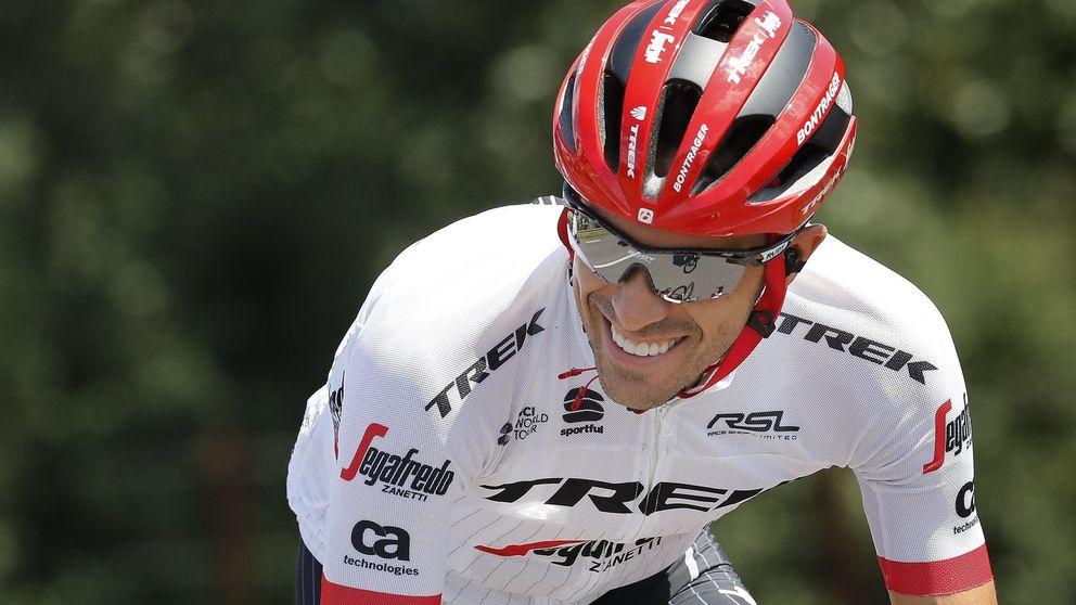 La primera flojera no altera el plan de Contador, pero el Tour no le ayuda