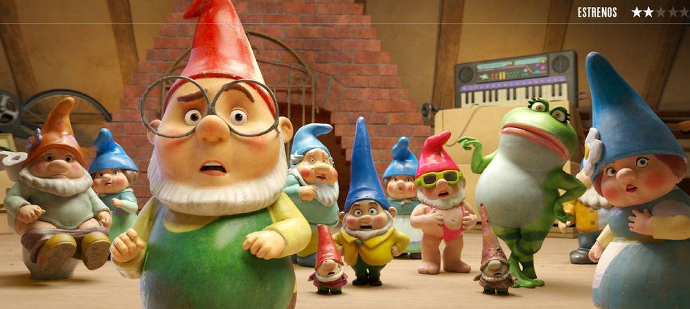 Foto: Una imagen de 'Sherlock Gnomes', dirigida por John Stevenson. (Paramount)