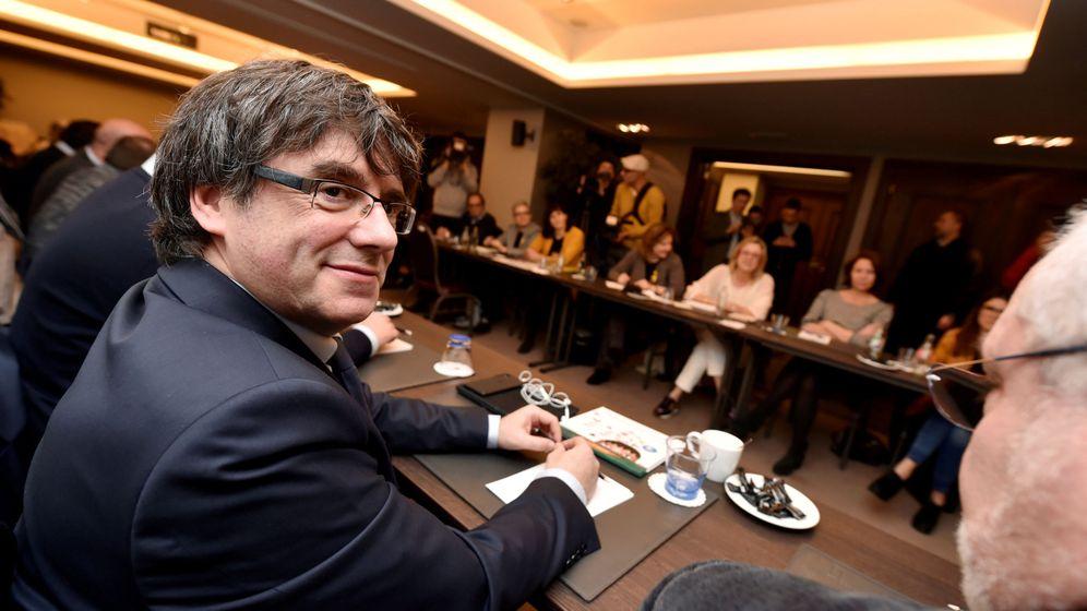 Foto: Carles Puigdemont en Bruselas. (Reuters)