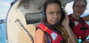 Post de La mala caída de Leticia Sabater al saltar del helicóptero en el estreno de 'SV 2017'