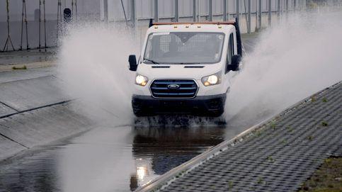 Así 'torturan' en Ford a su Transit eléctrica de cara a su lanzamiento en 2022