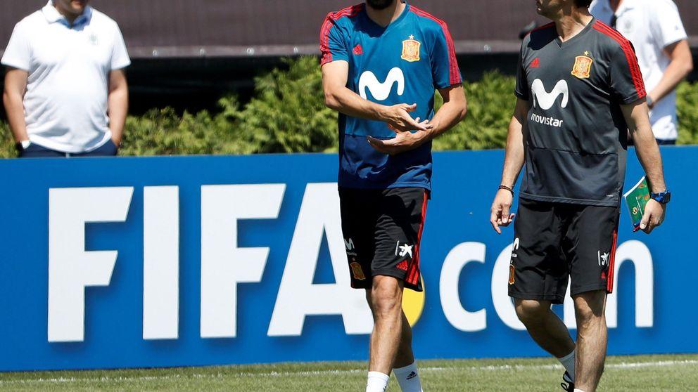 Piqué arenga a la Selección española con la historia de 'El hombre de Michigan'
