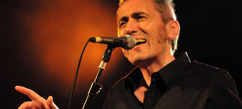 Foto: Jabier Muguruza en uno de sus conciertos