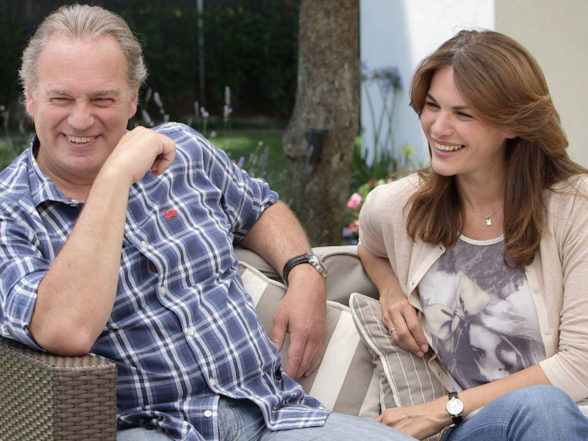 Foto: Bertín Osborne y Fabiola Martínez en una imagen de 'Mi casa es la tuya'. (Mediaset)