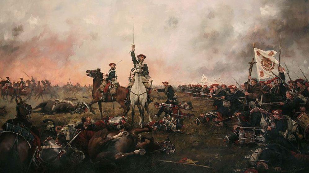 Foto: Calderote (Primera Guerra Carlista) de Ferrer Dalmau.