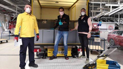 Las oficinas de Correos reparten casi un millón de mascarillas a los transportistas