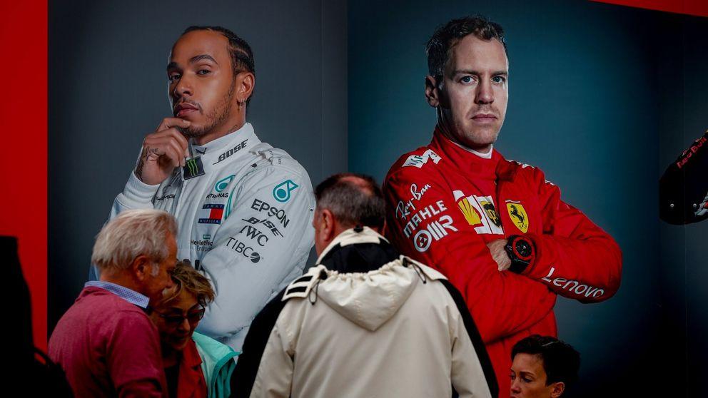 Por qué a Sebastian Vettel y Lewis Hamilton les queda cada vez menos mecha en la F1