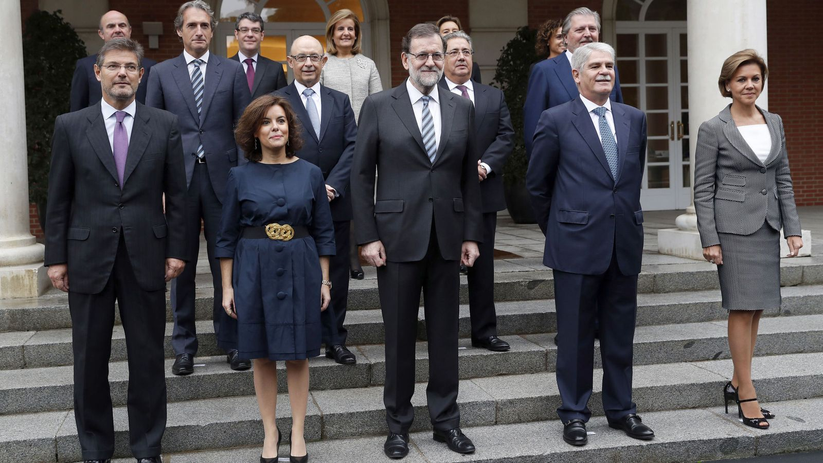 Nuevos ministros gobierno rajoy los ministros vips a dos for Ministros de espana
