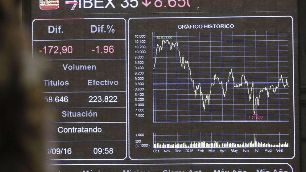 Deutsche Bank rebota y borra las pérdidas en el Ibex, que cierra septiembre casi plano