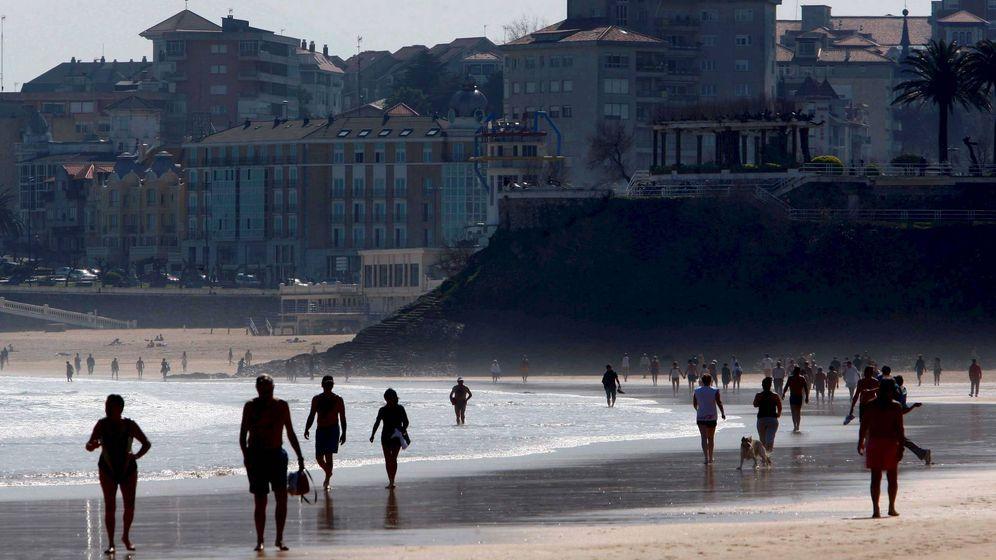 Foto: Playa del Sardinero en Santander. (EFE)