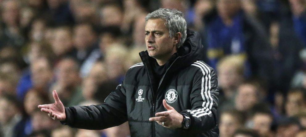 Foto: Mourinho, durante un partido del Chelsea (EFE)
