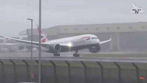 Peligroso aterrizaje en Heathrow