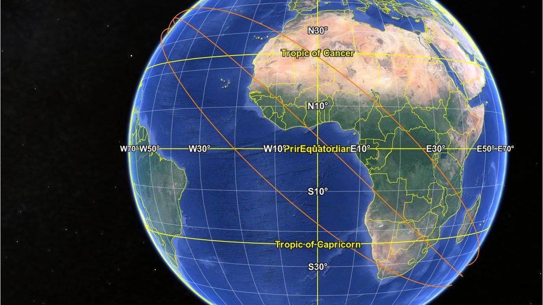 Una pieza gigante de un cohete chino se estrella contra la Tierra