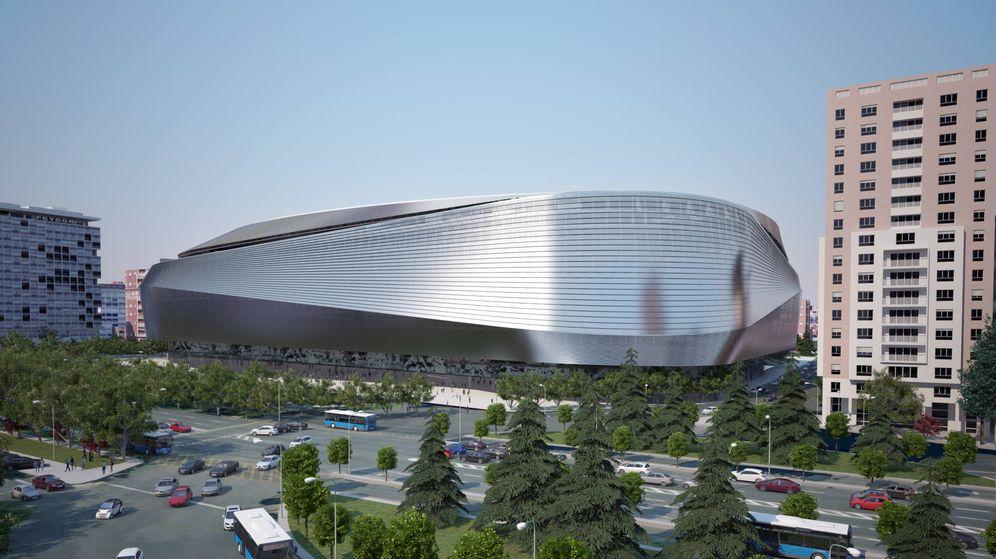 Foto: El Ayuntamiento de Madrid aprobó en mayo de este año el plan especial para la reforma del Bernabéu. (Ayuntamiento de Madrid)