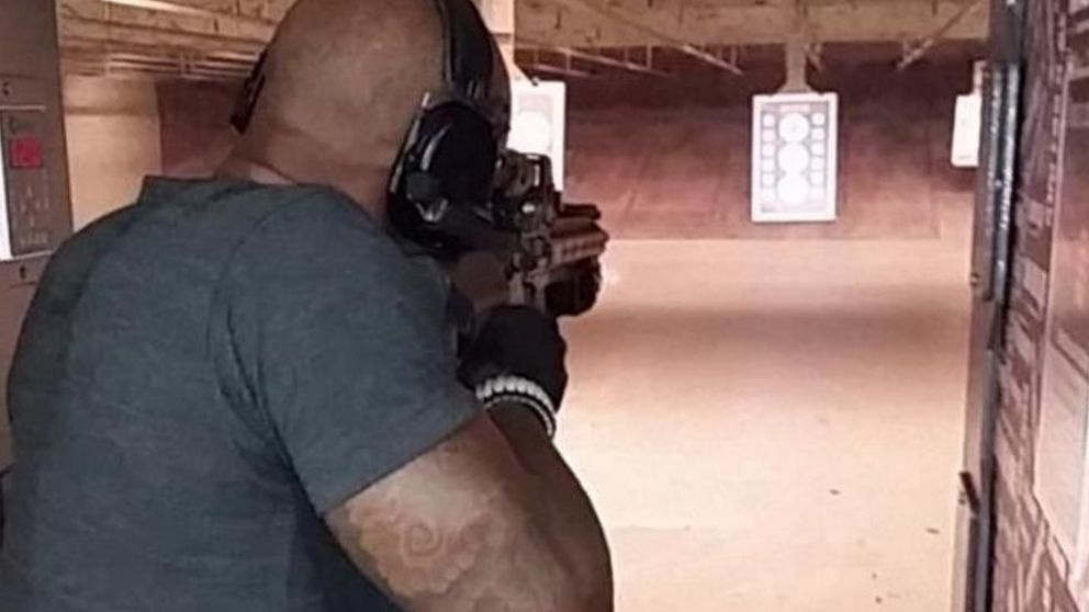 Chris Brown y Tyson Beckford pelean por una chica con armas de por medio