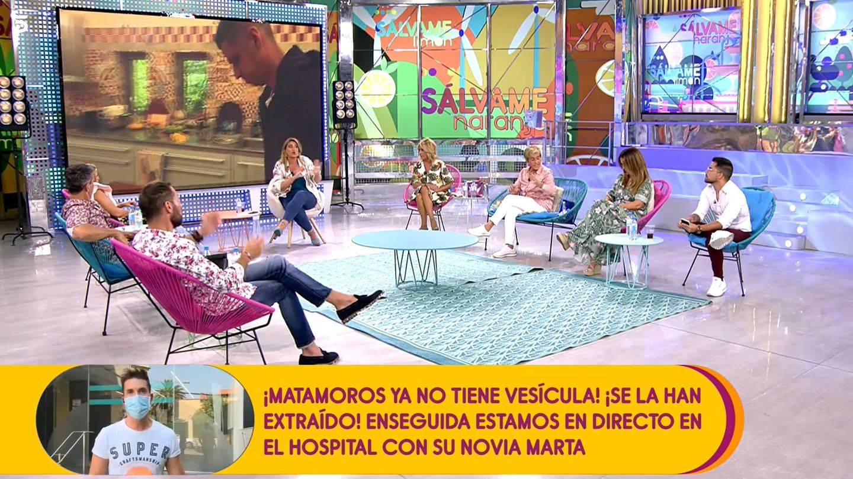 Carlota Corredera, en 'Sálvame'. (Mediaset España)