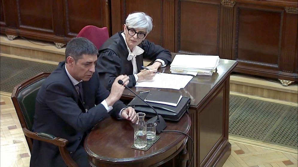 Foto: La declaración de Josep Lluís Trapero, jefe de los Mossos d'Esquadra durante el 1-O. (EFE)