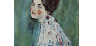 Post de Una pintura robada de Klimt, valorada en 60 millones, vuelve a exponerse al público