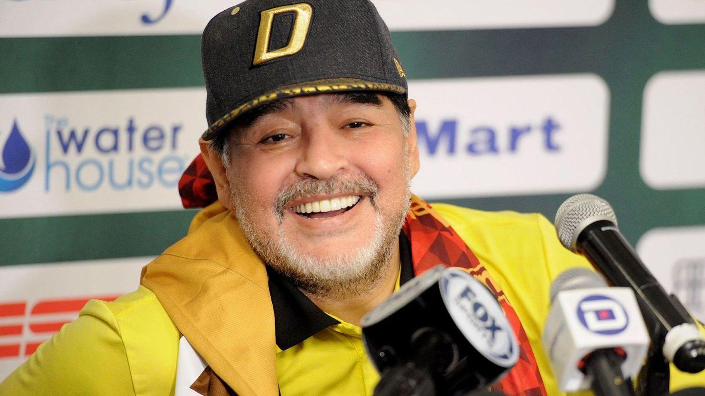 Maradona en una imagen de archivo. (EFE)