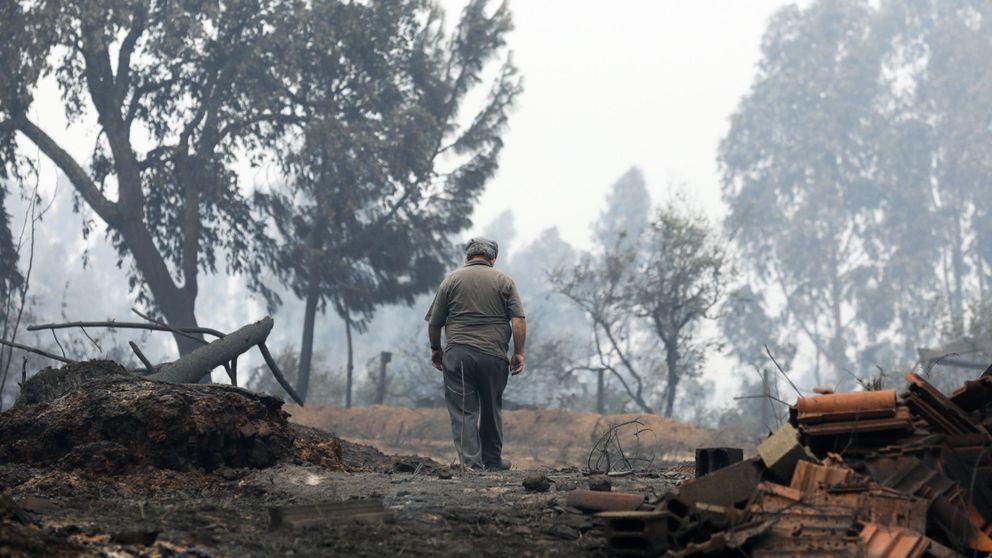 Incendios el fuego sobre do ana da tregua a matalasca as y abre la salida a los vecinos - Que hay en portugal ...