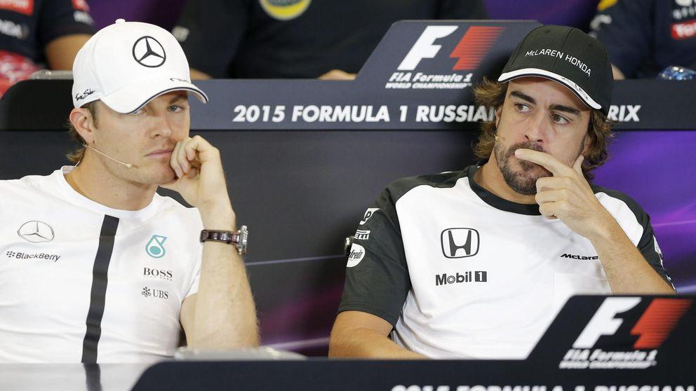 El adiós de Rosberg: ¿y si Mercedes le pone a Alonso una oferta en la mesa?