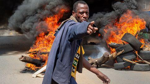 Protestas en Sudáfrica y temperaturas en descenso: el día en fotos