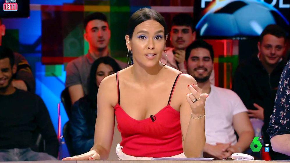Foto: Cristina Pedroche en 'Zapeando'. (Atresmedia Televisión)