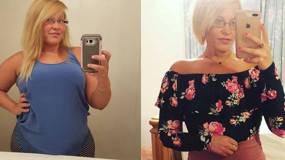 La rutina que hizo que esta mujer lograse adelgazar más de 40 kilos