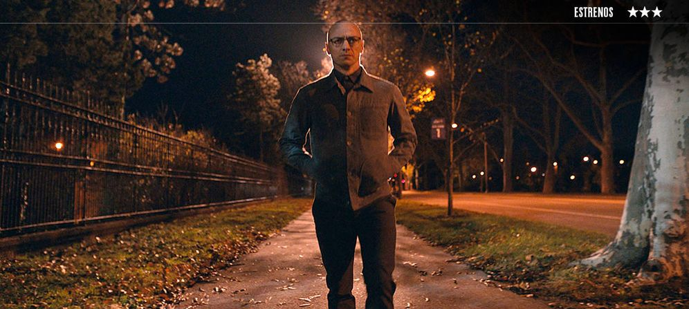 Foto: James McAvoy protagoniza 'Múltiple'.