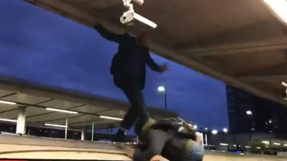 Foto: Captura del vídeo difundido por 'Metro'.