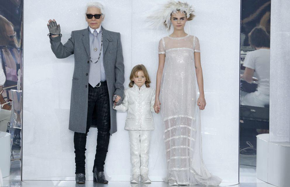 Foto: Hudson Kroenig: el modelo favorito de Karl Lagerfeld tiene seis años