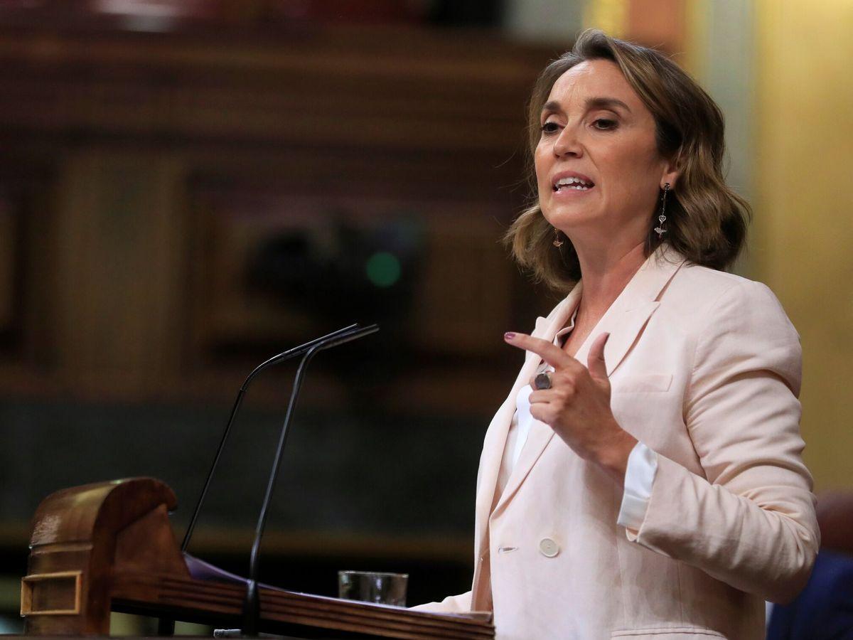 Foto: La portavoz parlamentaria del PP, Cuca Gamarra. (EFE)